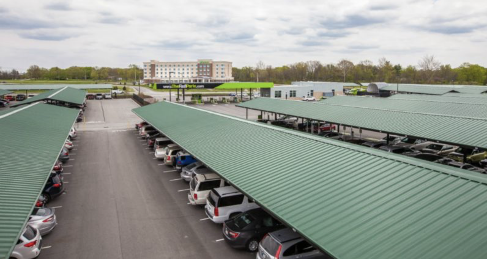 Large Commercial Carport Company Blog